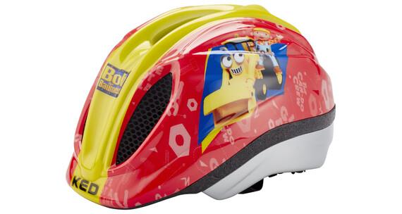 KED Meggy Original helm Kinderen Bob der Baumeister geel/rood